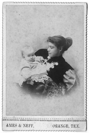 Primary view of object titled '[Woman and infant]'.