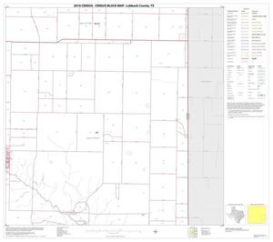 Primary view of object titled '2010 Census County Block Map: Lubbock County, Block 12'.