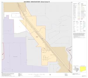 Primary view of object titled '2010 Census County Block Map: Johnson County, Inset C01'.