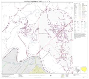 Primary view of object titled '2010 Census County Block Map: Orange County, Block 20'.