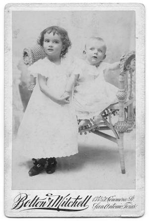 Primary view of object titled '[Two Children]'.