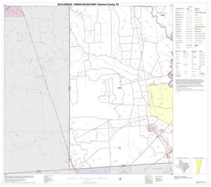 Primary view of object titled '2010 Census County Block Map: Newton County, Block 10'.
