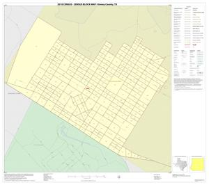 Primary view of object titled '2010 Census County Block Map: Kinney County, Inset B01'.