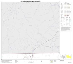 Primary view of object titled '2010 Census County Block Map: Kerr County, Block 12'.