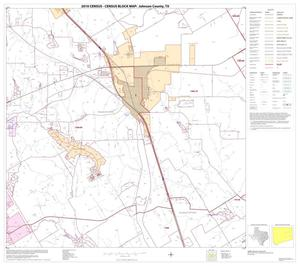 Primary view of object titled '2010 Census County Block Map: Johnson County, Block 9'.