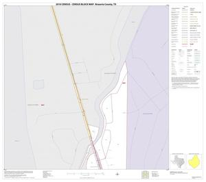 Primary view of object titled '2010 Census County Block Map: Brazoria County, Inset R01'.