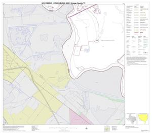Primary view of object titled '2010 Census County Block Map: Orange County, Block 19'.