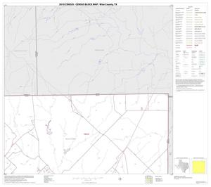 Primary view of object titled '2010 Census County Block Map: Wise County, Block 5'.