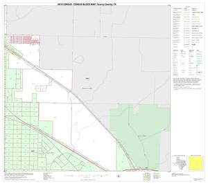 Primary view of object titled '2010 Census County Block Map: Scurry County, Inset B03'.