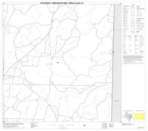 Primary view of object titled '2010 Census County Block Map: Oldham County, Block 17'.