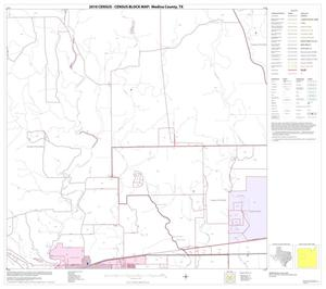 Primary view of object titled '2010 Census County Block Map: Medina County, Block 12'.