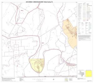 Primary view of object titled '2010 Census County Block Map: Parker County, Block 14'.