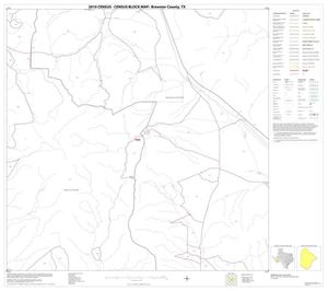 Primary view of object titled '2010 Census County Block Map: Brewster County, Block 18'.