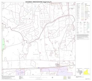 Primary view of object titled '2010 Census County Block Map: Gregg County, Block 12'.