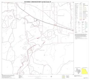 Primary view of object titled '2010 Census County Block Map: San Saba County, Block 9'.