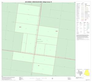 Primary view of object titled '2010 Census County Block Map: Hidalgo County, Inset H01'.