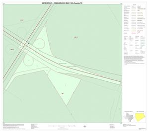 Primary view of object titled '2010 Census County Block Map: Ellis County, Inset J01'.