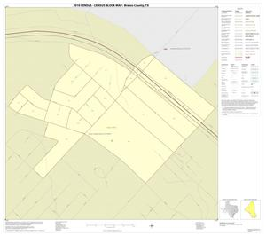 Primary view of object titled '2010 Census County Block Map: Brazos County, Inset B01'.