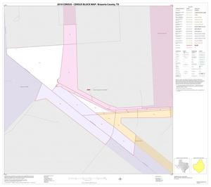 Primary view of object titled '2010 Census County Block Map: Brazoria County, Inset E01'.
