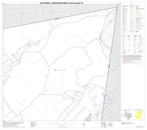 Primary view of object titled '2010 Census County Block Map: Aransas County, Block 3'.