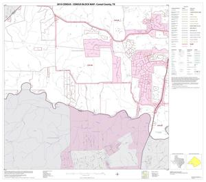 Primary view of object titled '2010 Census County Block Map: Comal County, Block 8'.