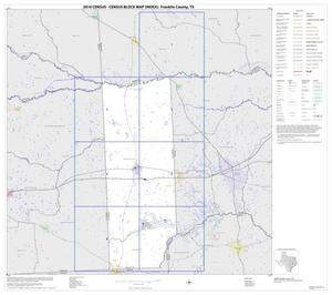 Primary view of object titled '2010 Census County Block Map: Franklin County, Index'.