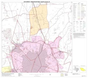 Primary view of object titled '2010 Census County Block Map: Angelina County, Block 7'.
