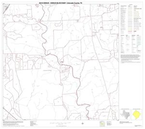 Primary view of object titled '2010 Census County Block Map: Colorado County, Block 4'.