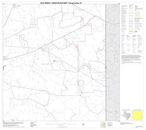 Primary view of object titled '2010 Census County Block Map: Young County, Block 12'.