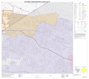 Primary view of object titled '2010 Census County Block Map: Coryell County, Block 28'.