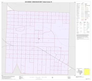 Primary view of object titled '2010 Census County Block Map: Yoakum County, Inset A01'.