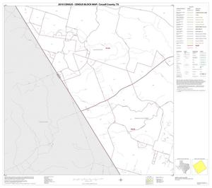 Primary view of object titled '2010 Census County Block Map: Coryell County, Block 21'.