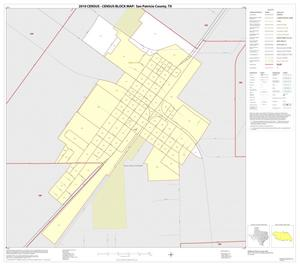 Primary view of object titled '2010 Census County Block Map: San Patricio County, Inset F01'.
