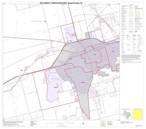 Primary view of object titled '2010 Census County Block Map: Howard County, Block 10'.