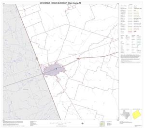 Primary view of object titled '2010 Census County Block Map: Milam County, Block 21'.
