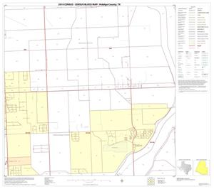 Primary view of object titled '2010 Census County Block Map: Hidalgo County, Block 92'.