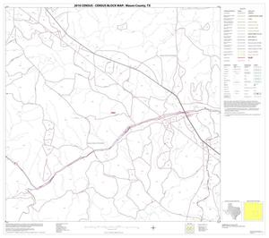 Primary view of object titled '2010 Census County Block Map: Mason County, Block 11'.