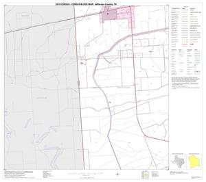 Primary view of object titled '2010 Census County Block Map: Jefferson County, Block 9'.