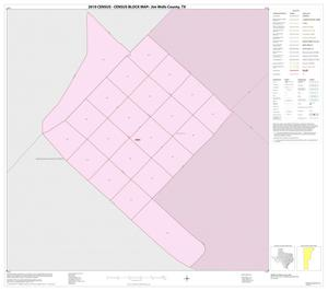 Primary view of object titled '2010 Census County Block Map: Jim Wells County, Inset B01'.