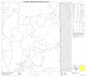 Primary view of object titled '2010 Census County Block Map: Stephens County, Block 8'.