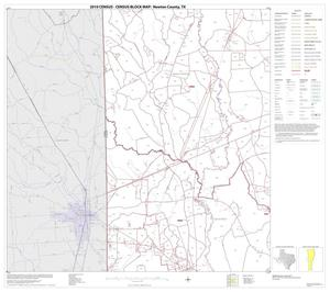 Primary view of object titled '2010 Census County Block Map: Newton County, Block 6'.