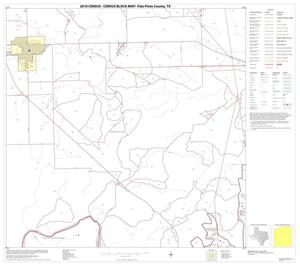 Primary view of object titled '2010 Census County Block Map: Palo Pinto County, Block 8'.