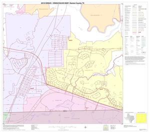 Primary view of object titled '2010 Census County Block Map: Denton County, Block 84'.