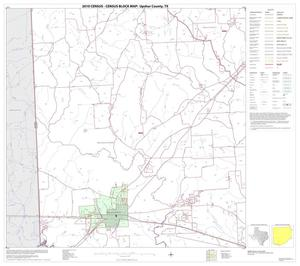 Primary view of object titled '2010 Census County Block Map: Upshur County, Block 9'.
