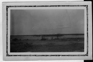 Primary view of object titled '[Flood of Spring 1927, Lake Dallas at Camp Fisher before the completion of the new dam]'.