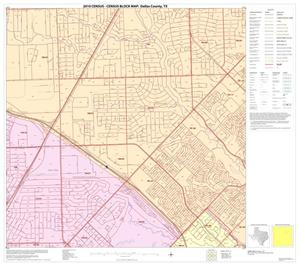 Primary view of object titled '2010 Census County Block Map: Dallas County, Block 25'.