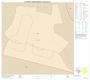 Primary view of object titled '2010 Census County Block Map: Coryell County, Inset J01'.
