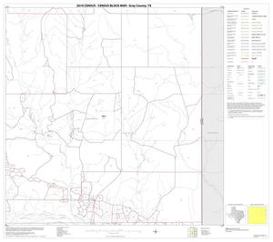 Primary view of object titled '2010 Census County Block Map: Gray County, Block 8'.