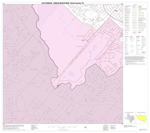 Primary view of object titled '2010 Census County Block Map: Harris County, Block 278'.