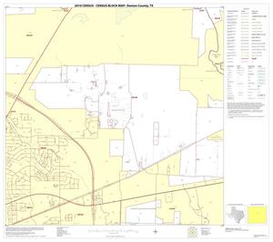 Primary view of object titled '2010 Census County Block Map: Denton County, Block 36'.